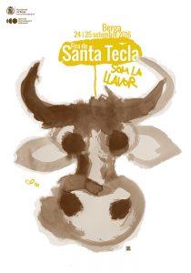 Cartell de la Fira Santa Tecla de Berga 2016